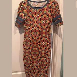 "Lularoe ""Julia"" dress size XXS"